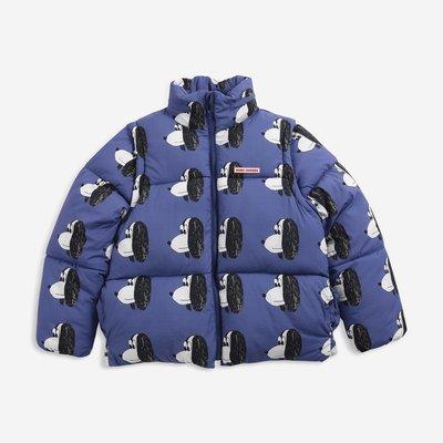 Bobo Choses Doggie All Over padded jacket