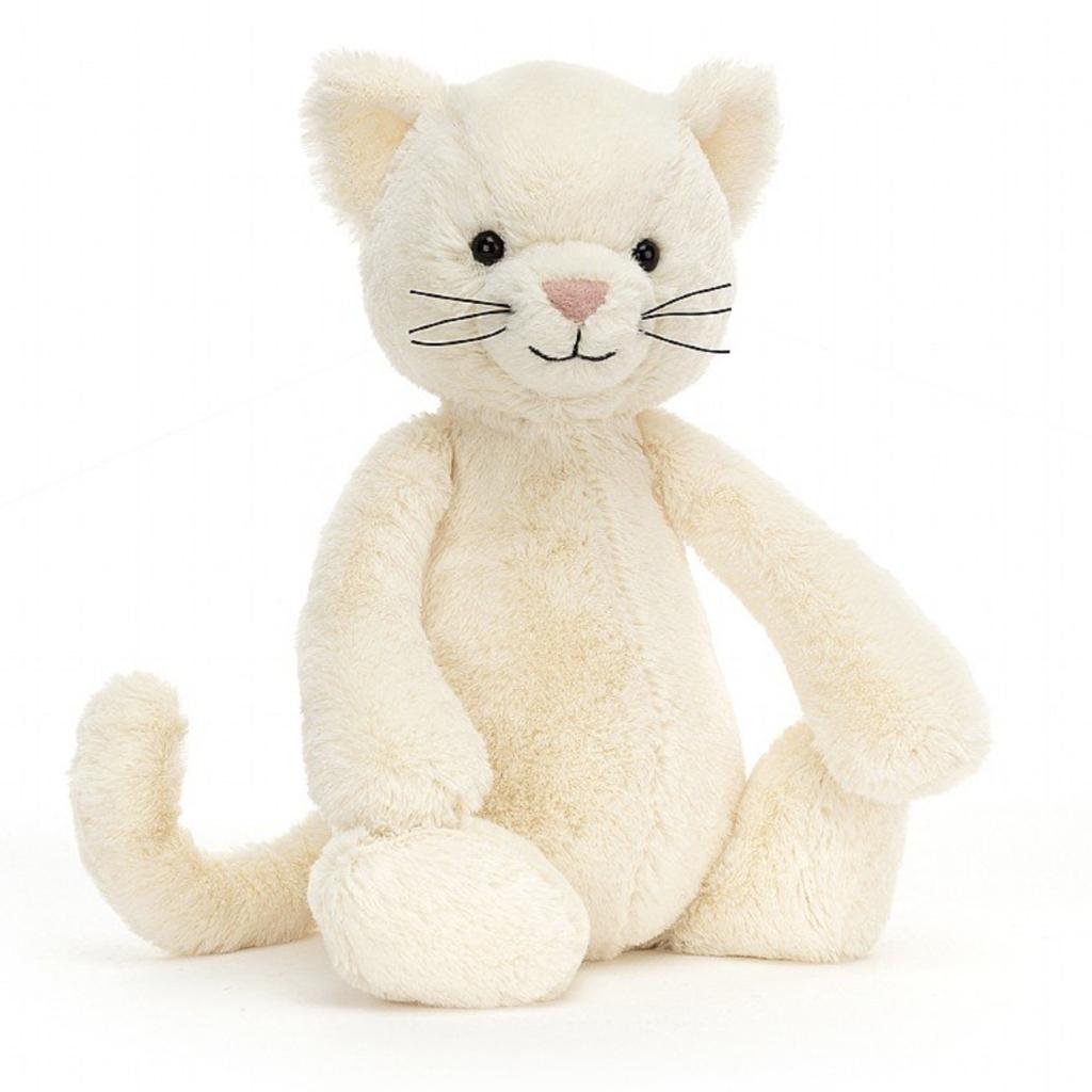 Jellycat Bashful Cream Kitten Medium