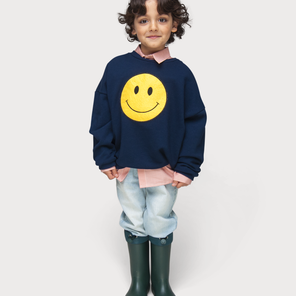 Maed for Mini Winkey Whale / Sweatshirt