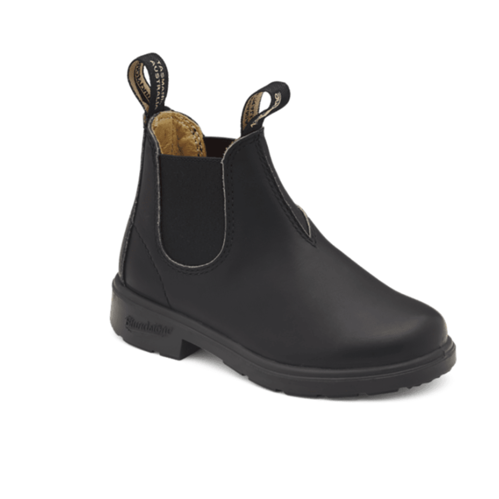 Blundstone Kids Black Leather