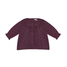 The new society Annet Baby Blouse