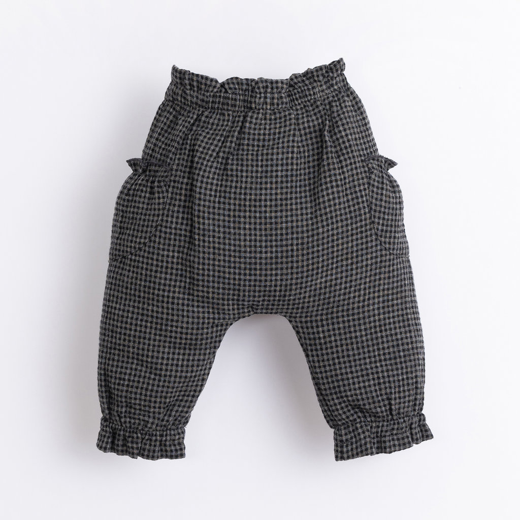 Play Up Vichy Woven Trousers