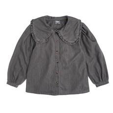 Tocoto Vintage Denim Blouse