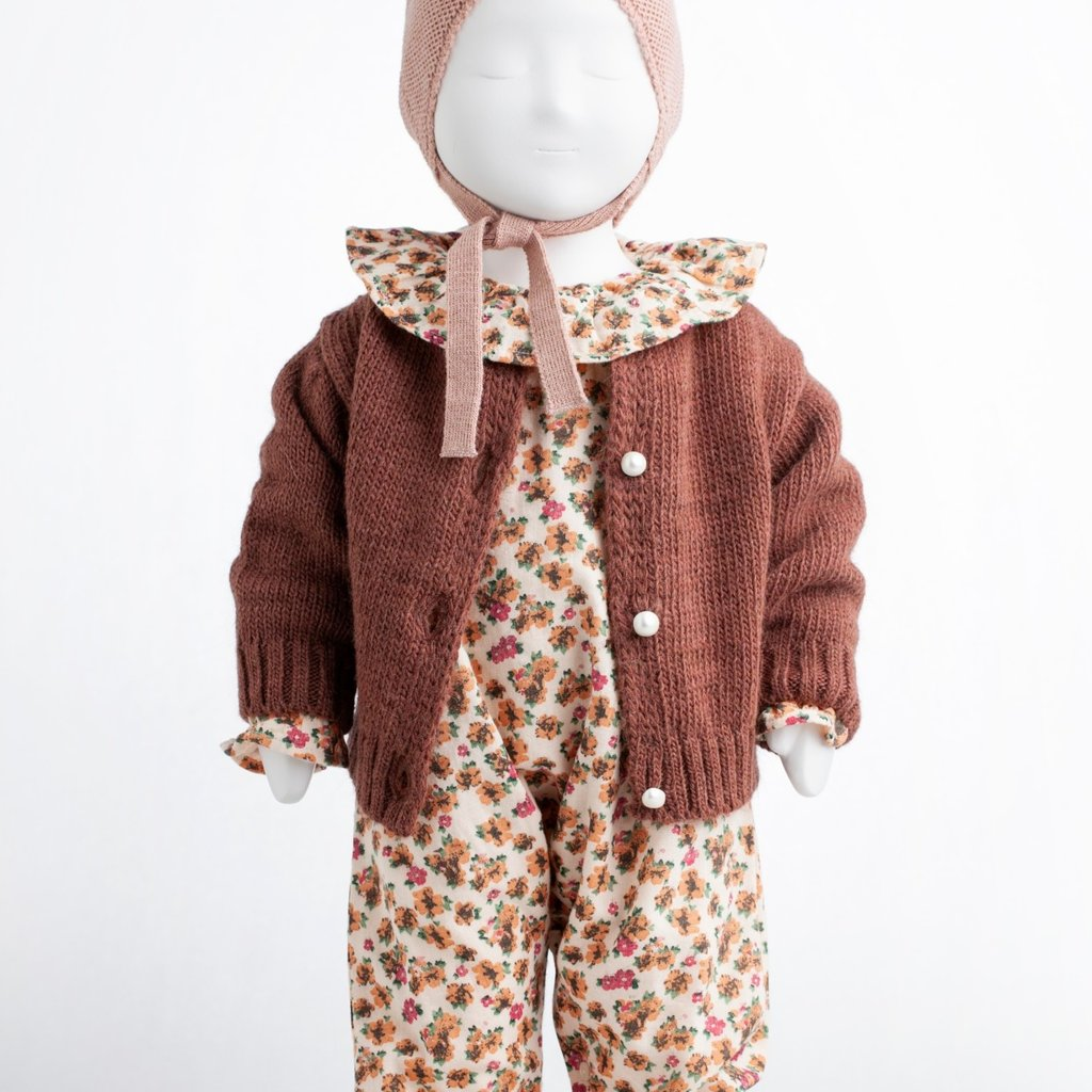 Tocoto Vintage Knitted Girl Jacket