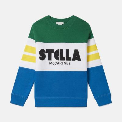 Stella McCartney Colblock Fleece Sweat W/Logo