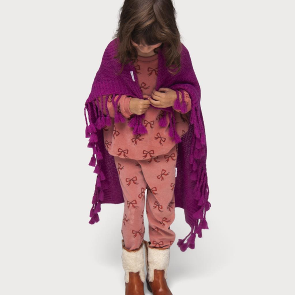 Maed for Mini Violet Viper Scarf