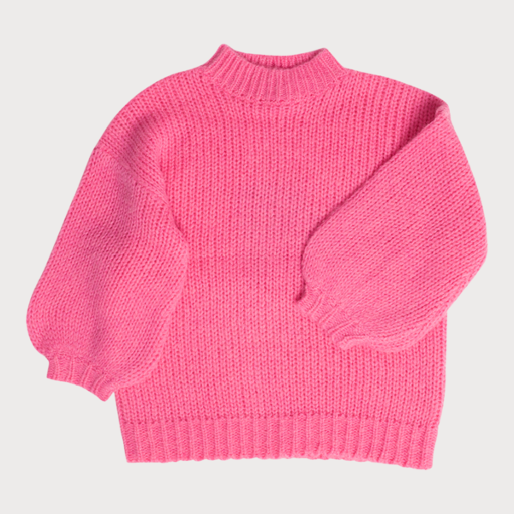 Maed for Mini Rosy Ringtail Sweater