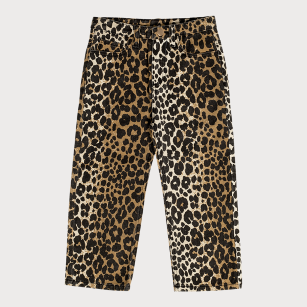 Maed for Mini Luxurious Leopard Jeans