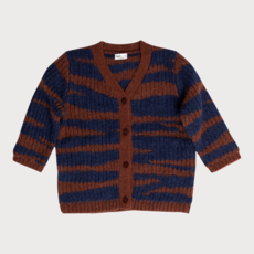 Maed for Mini Tubby Tiger Cardigan