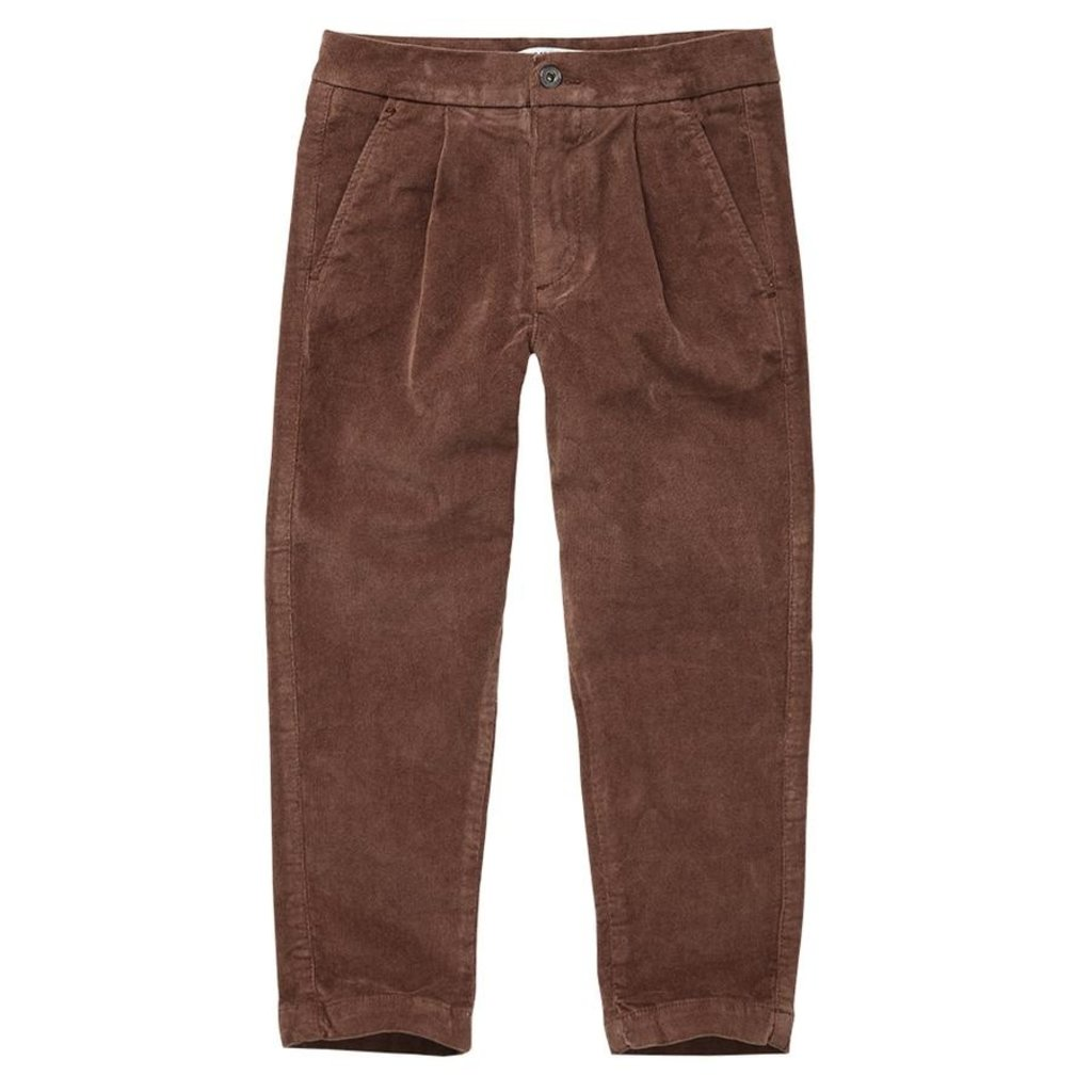 Mingo Corduroy Chino Burnished Leather