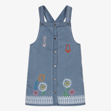 Stella McCartney Denim Dress W/Garden Embro