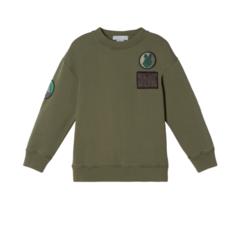 Stella McCartney Garment Dye Sweat W/Badges