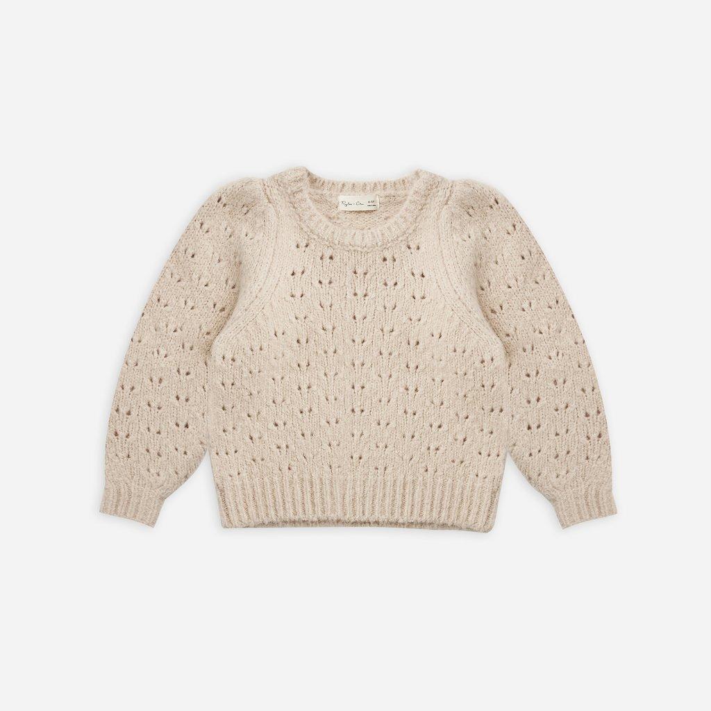 Rylee + Cru Balloon Sweater