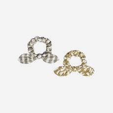 Rylee + Cru Scrunchie Set Gold Olive