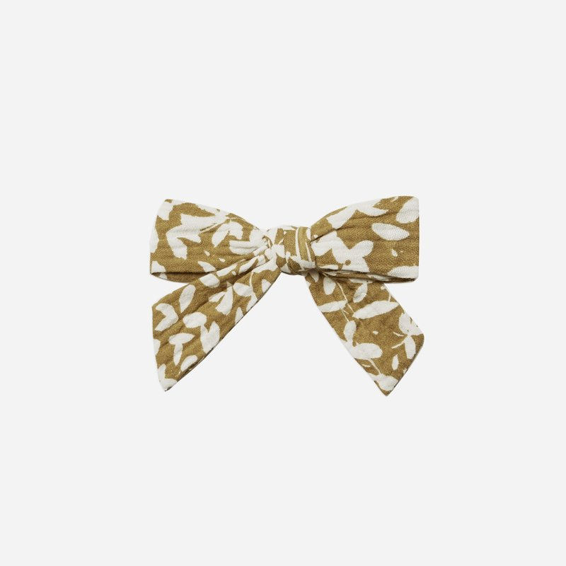 Rylee + Cru Girl Bow Gold