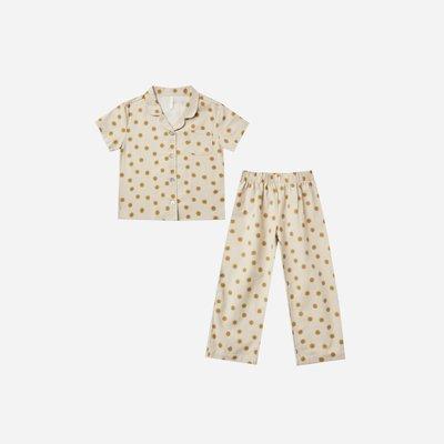 Rylee + Cru Girls Pajama Set Stone