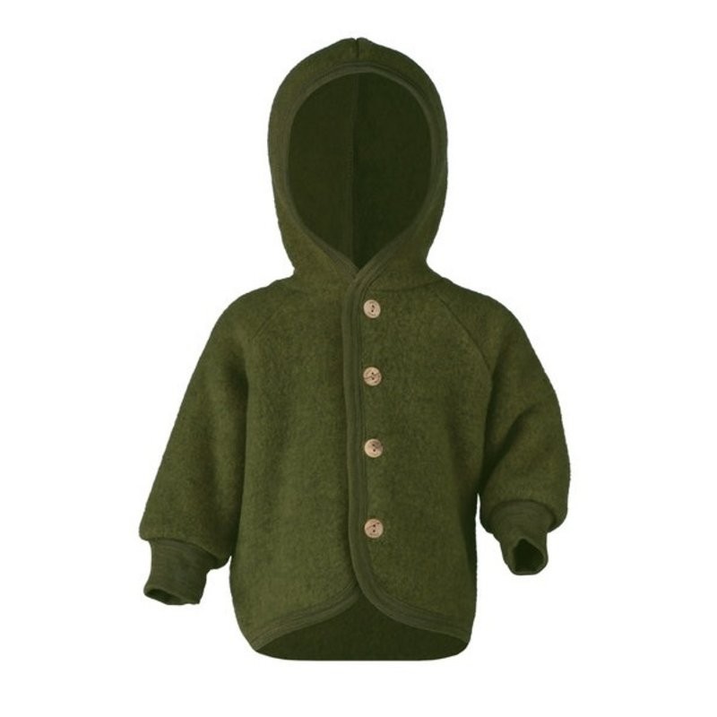 Engel Hooded Jacket Green