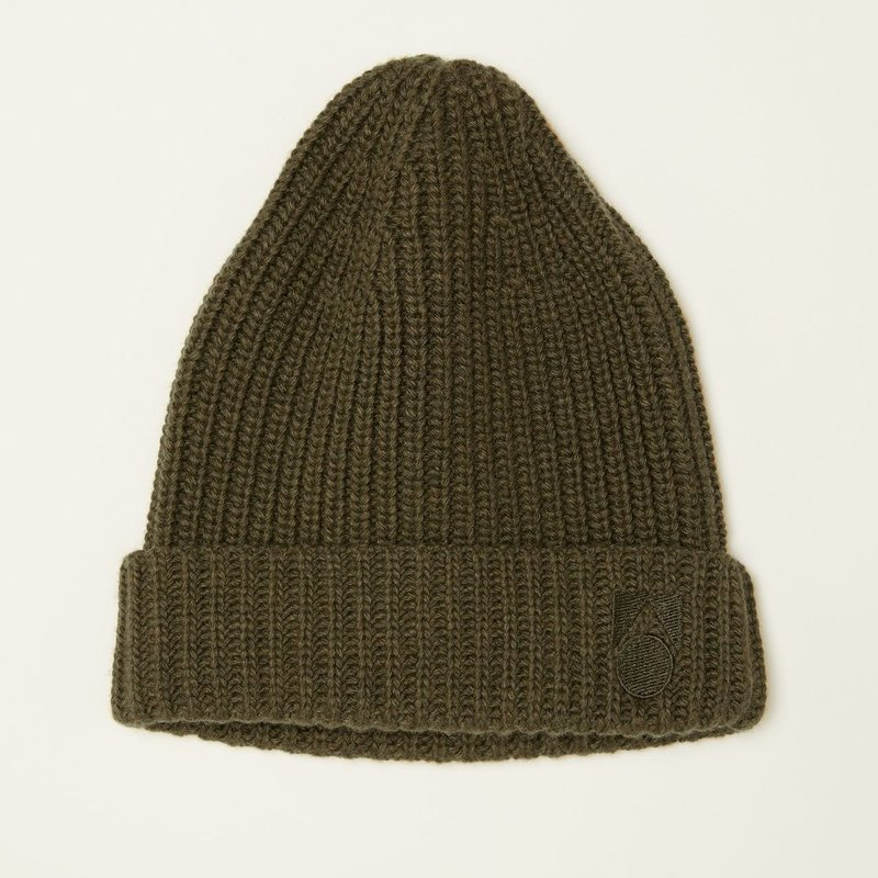Main Story Knitted Hat Olive