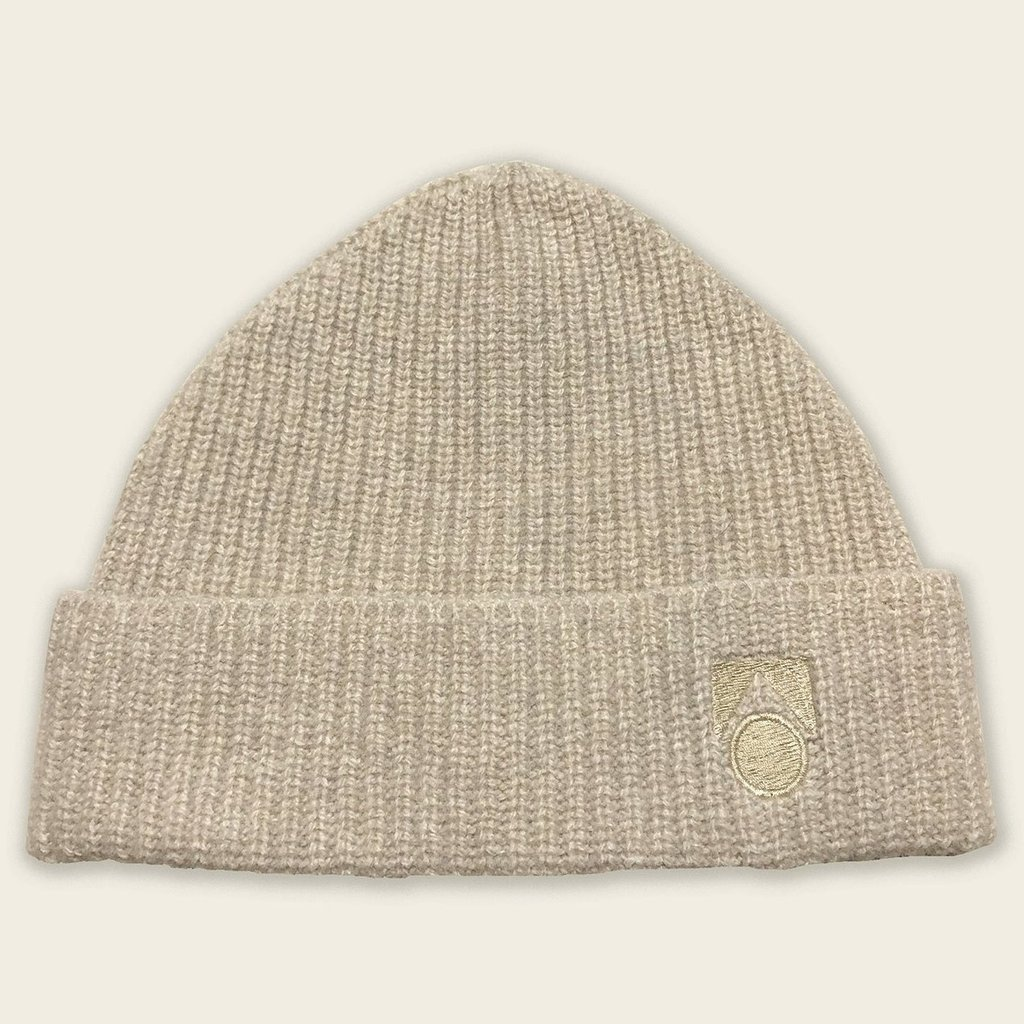 Main Story Knitted Hat Beige