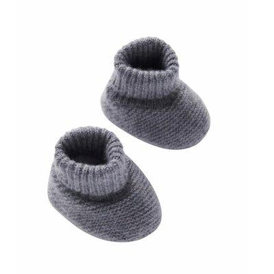 MP Denmark Cassidy Baby Slippers Middle Grey Melange