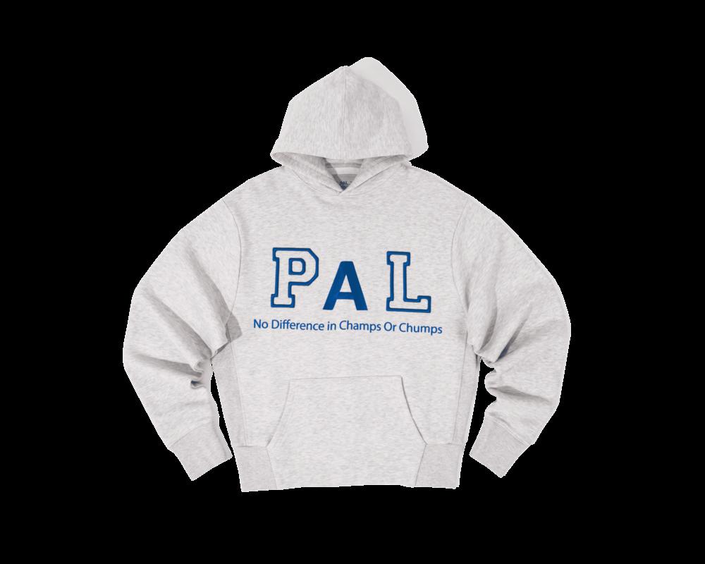 PAL Jock hoody light gray marl