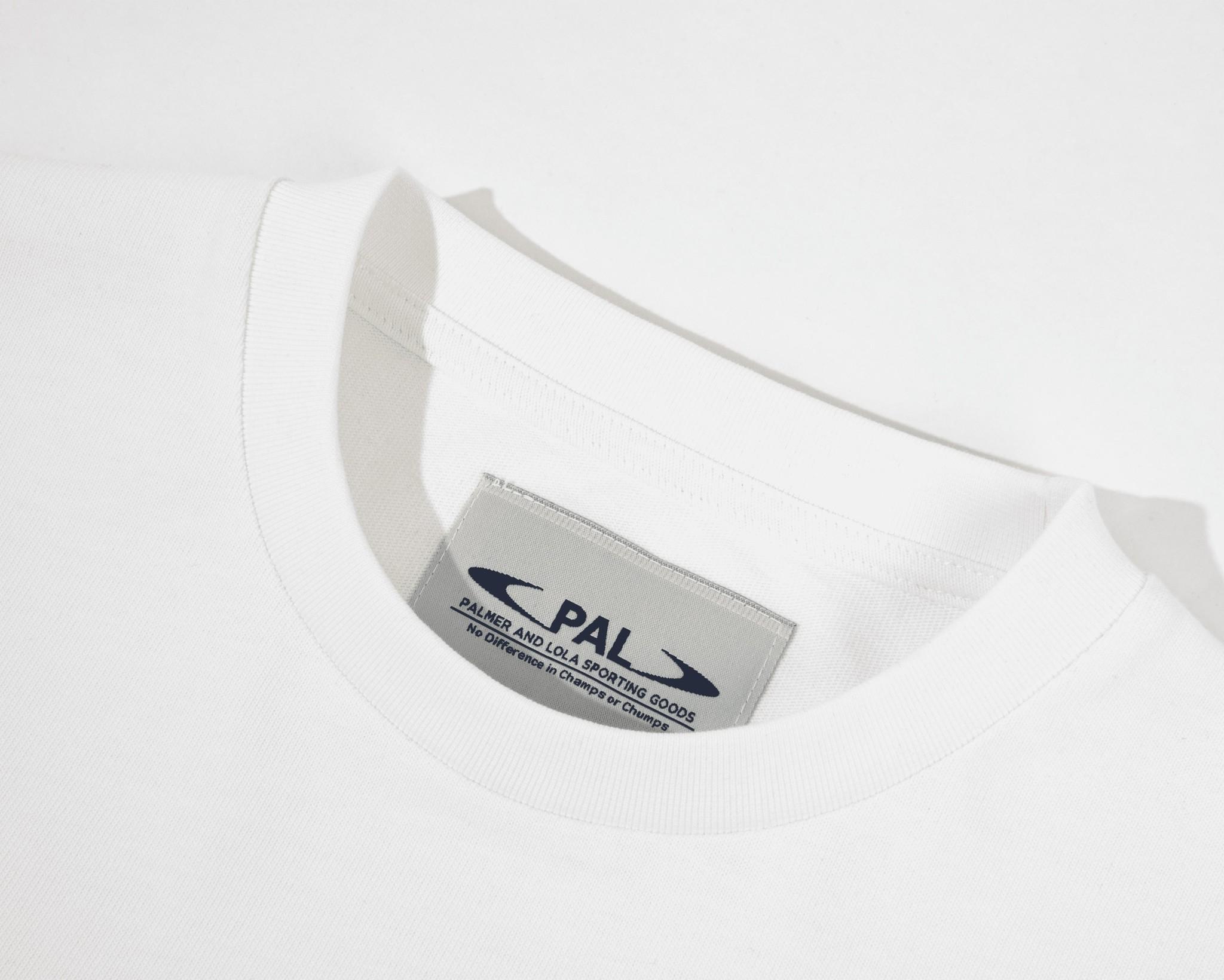 PAL Broadcast logo tshirt off the grid white