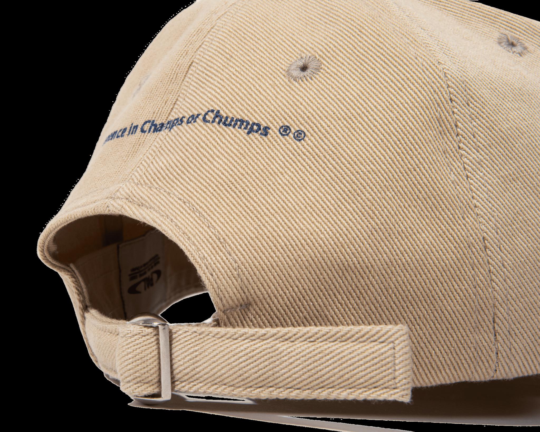 PAL Trademark cap tan