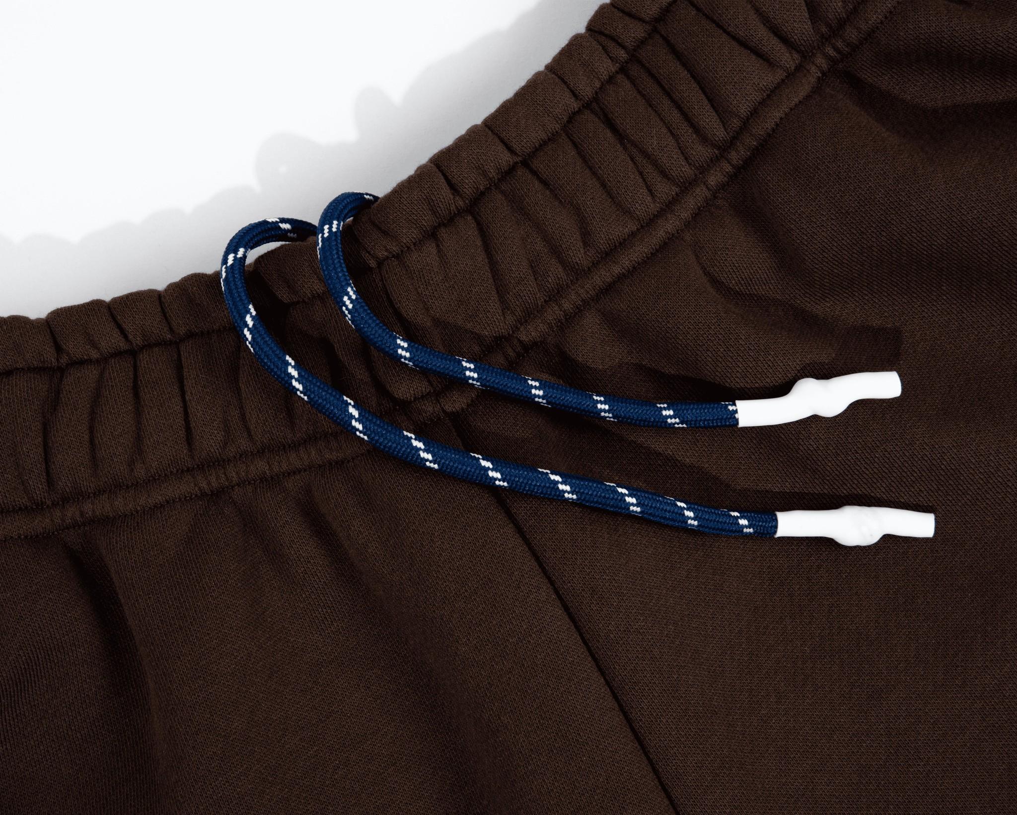 PAL Jock sweatpants deep brown