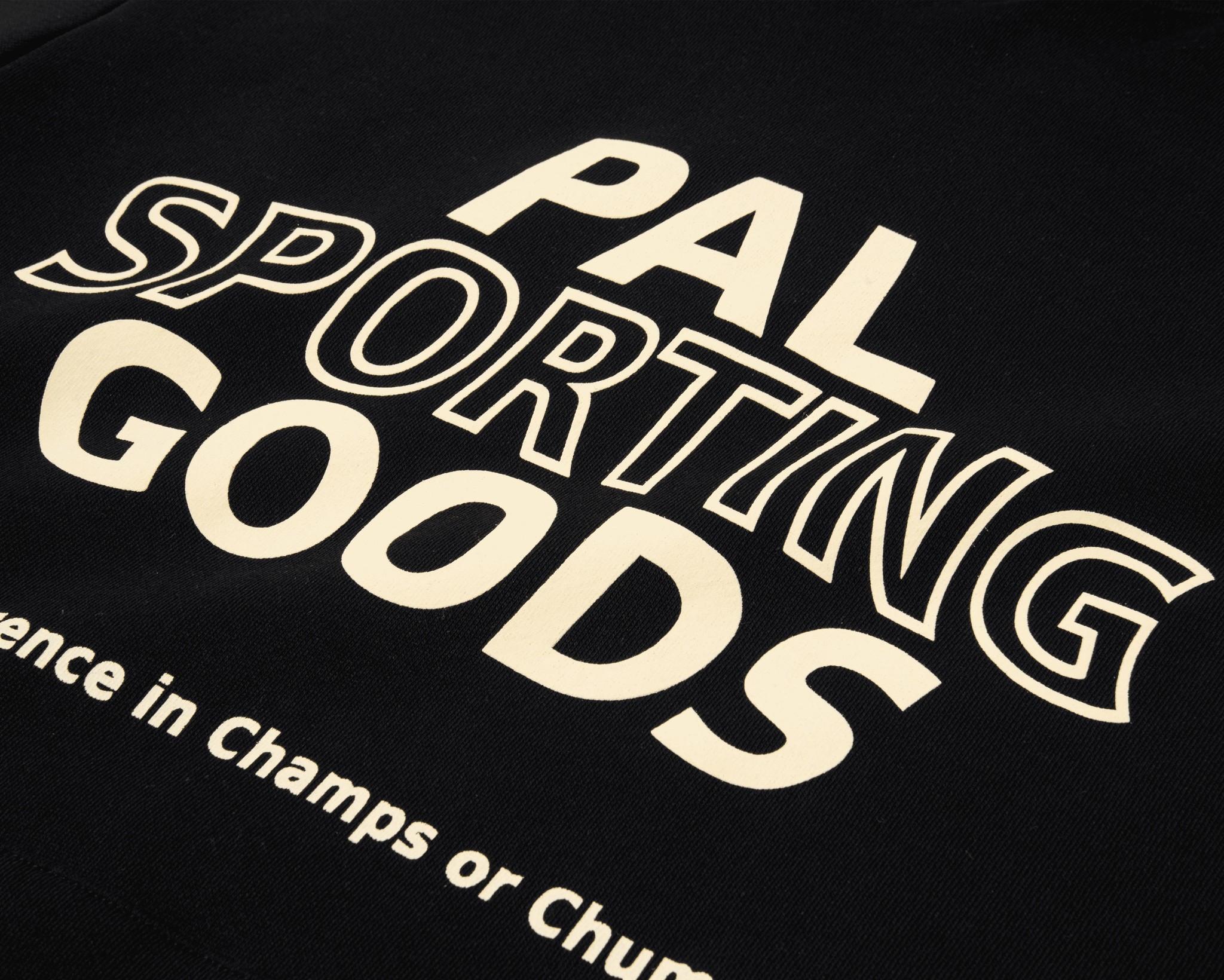 PAL Trademark hoody caviar black