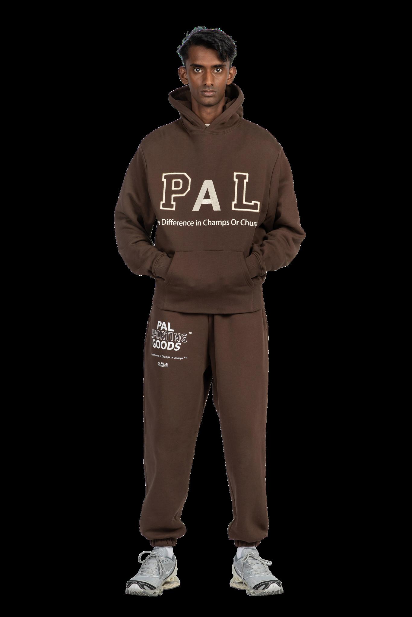 PAL Jock hoody deep brown
