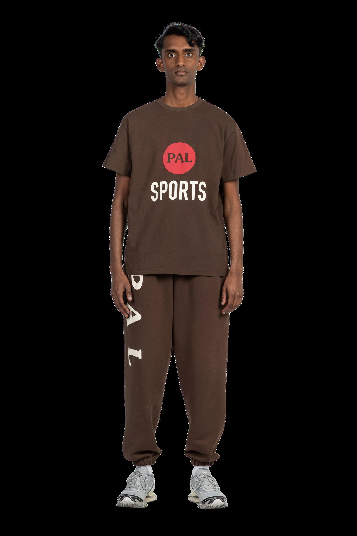 PAL Broadcast logo tshirt deep brown