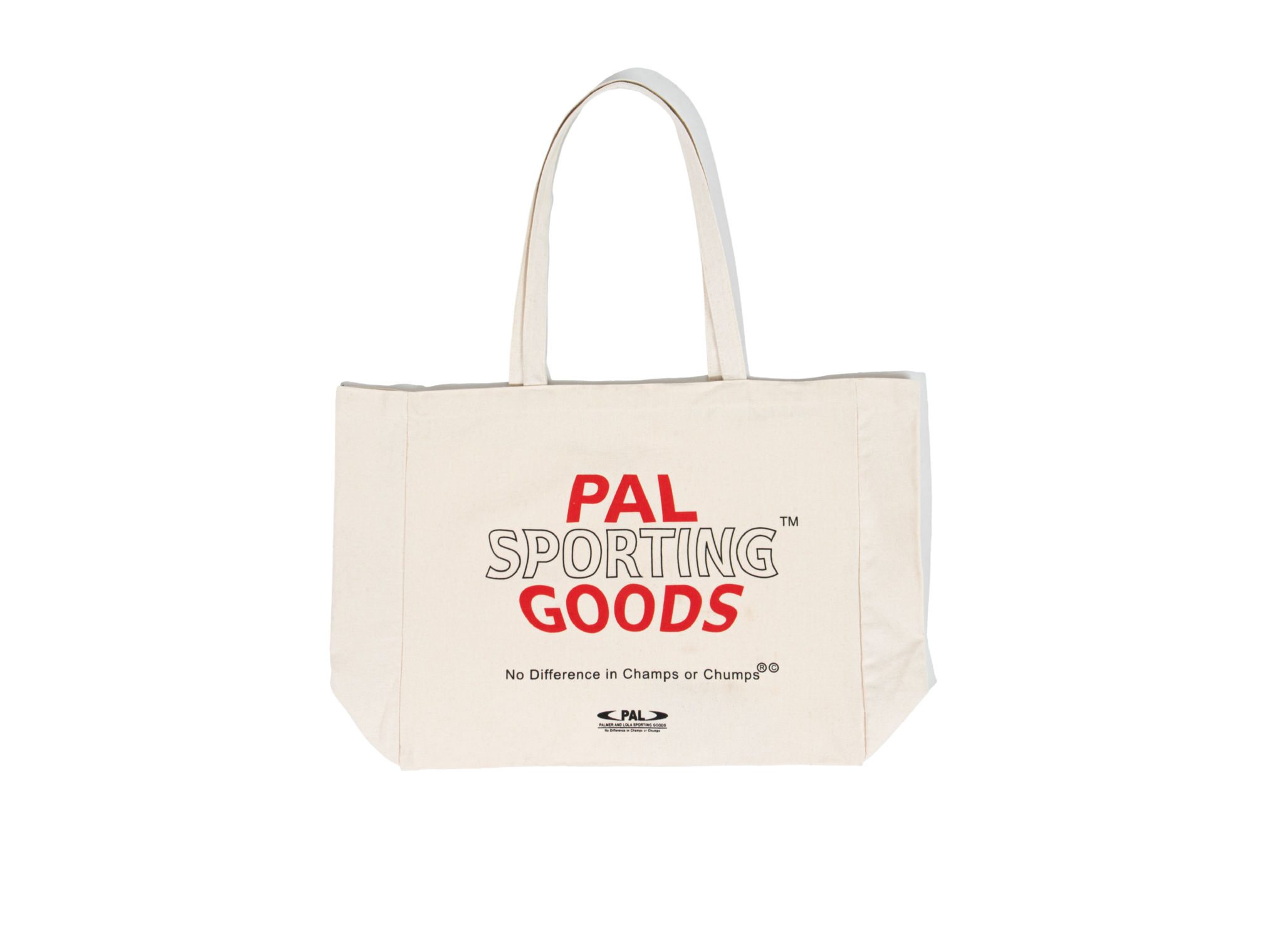 PAL PAL Broadcast canvas bag marshmallow/red