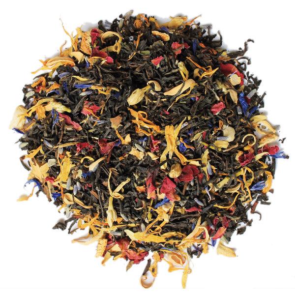 LOVE4TEA Zwarte thee melange - Duizend Bloemen