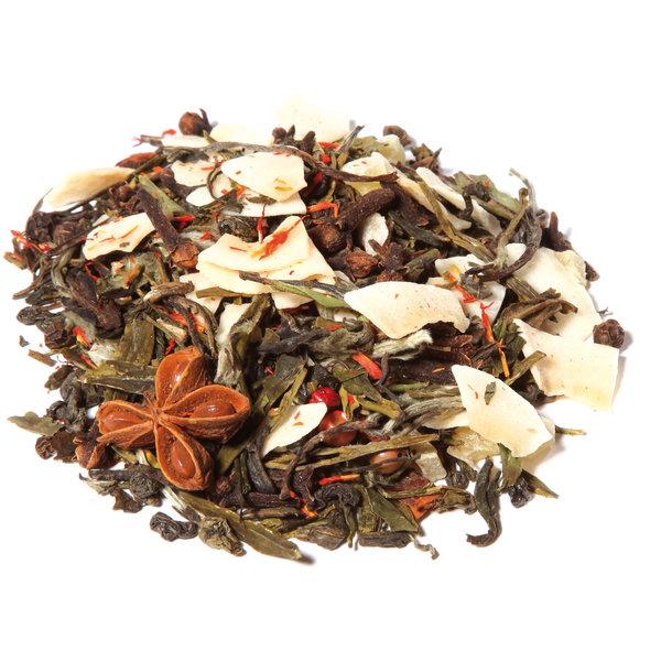 LOVE4TEA Witte thee fruit-kruidenmelange - Sinaasappel Chai