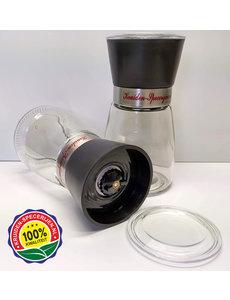 KRUIDEN-SPECERIJEN.NL Zout & pepermolen XL (glas)