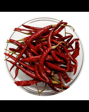 KRUIDEN-SPECERIJEN.NL Chile de Arbol - gedroogd (hele chillies)