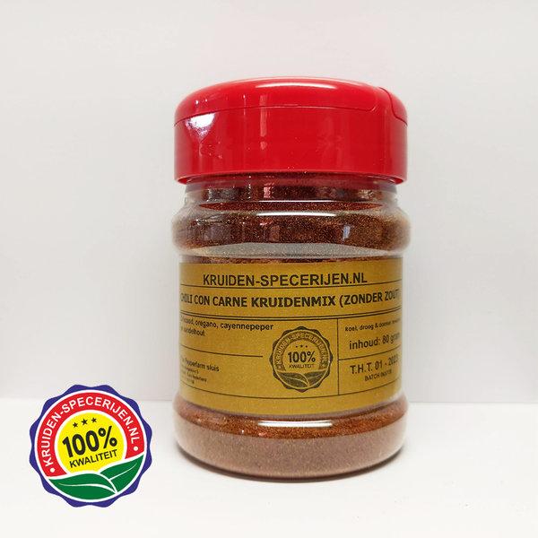 KRUIDEN-SPECERIJEN.NL Chili con carne kruidenmix (zonder zout)