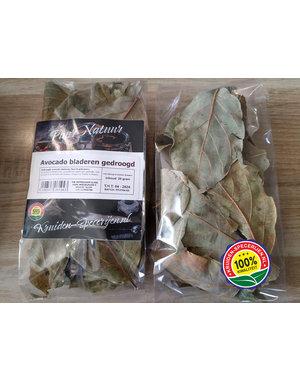 KRUIDEN-SPECERIJEN.NL Avocado bladeren heel (gedroogd)