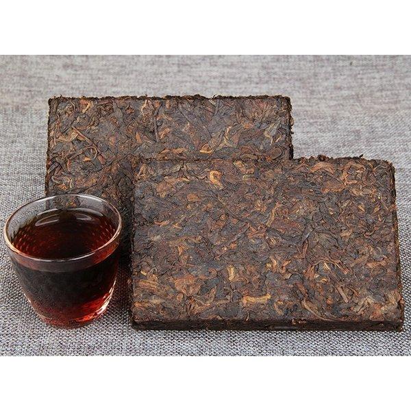 LOVE4TEA Rijpe Pu-erh thee brick uit 2007  (250 gram)