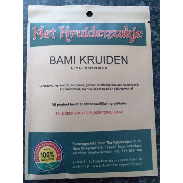 KRUIDEN-SPECERIJEN.NL Bami kruiden gemalen specerijen (zakje 20 gram)