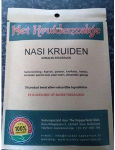 KRUIDEN-SPECERIJEN.NL Nasi kruiden gemalen specerijen