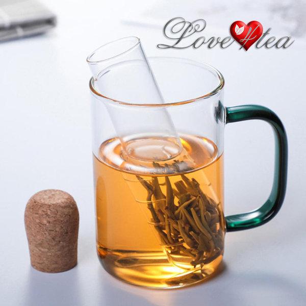 LOVE4TEA Borosilicaat glazen thee filter (infuser)