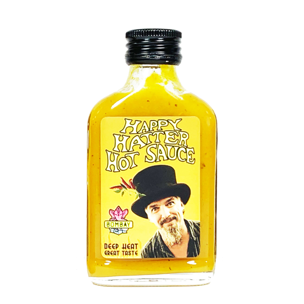 Happy Hatter Happy Hatter Hot Sauce Bombay 100ml