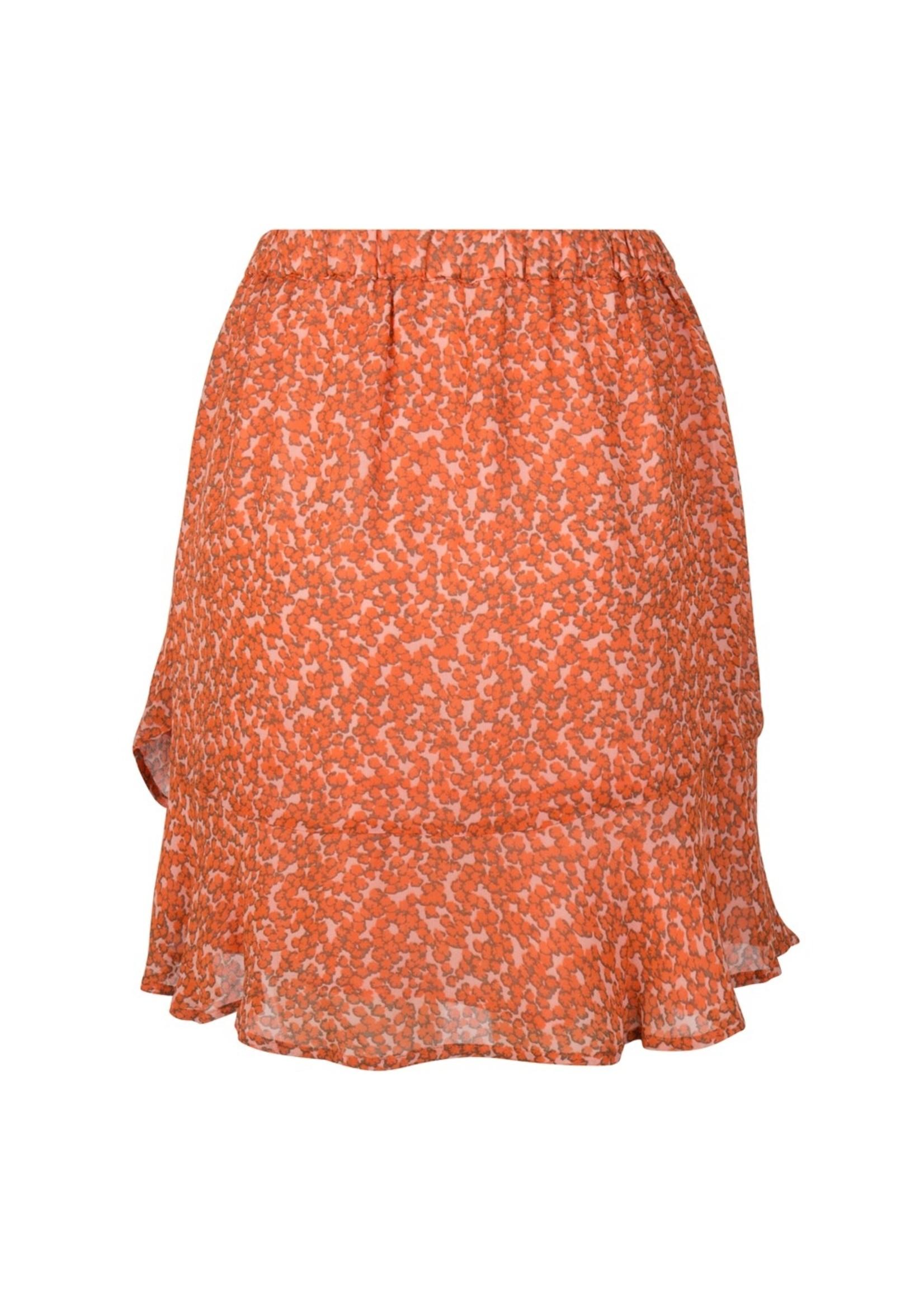 Esqualo Skirt volant full flower