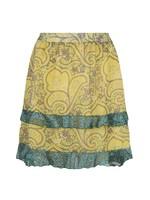 Esqualo Skirt short paisley layers
