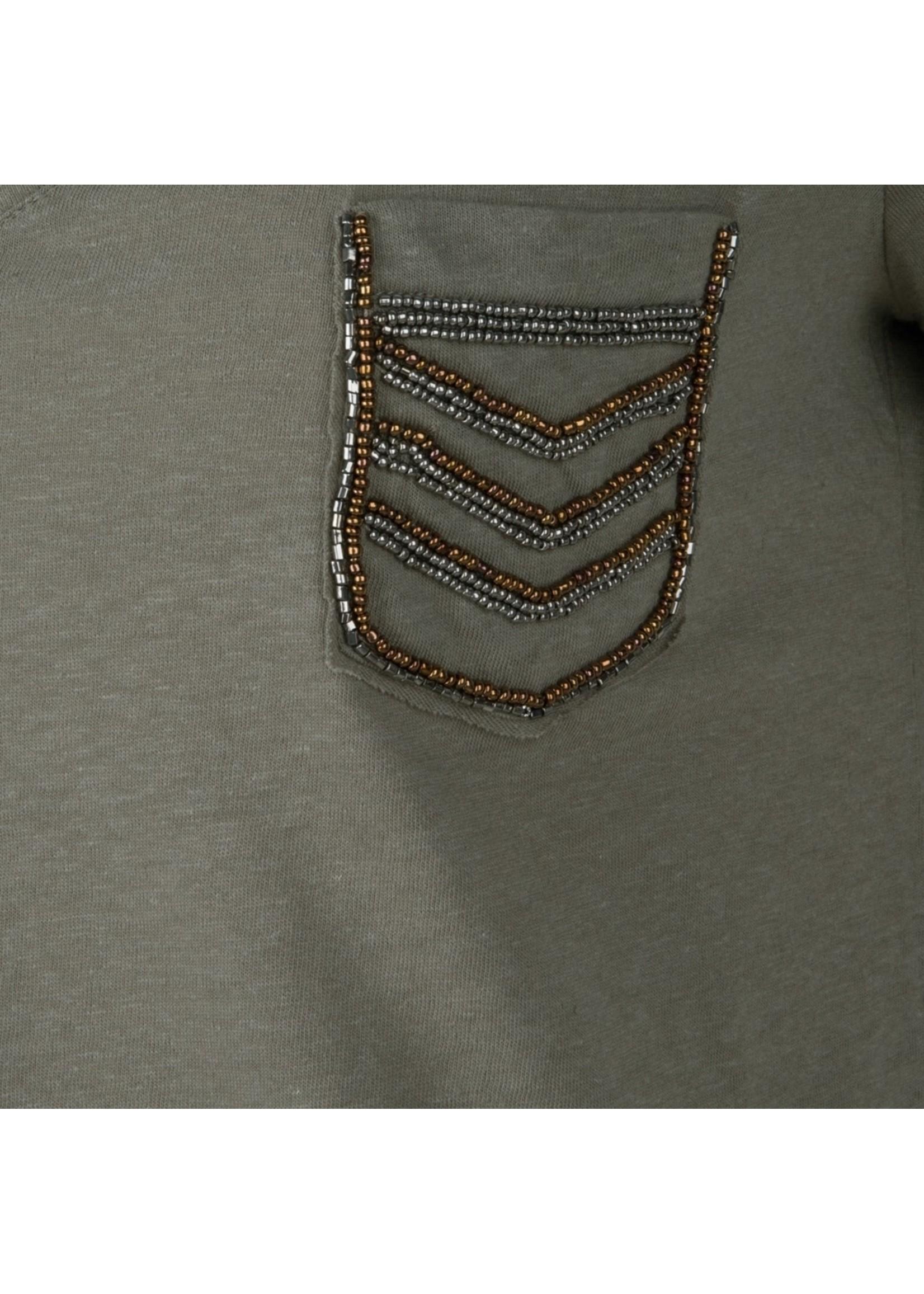 Esqualo T-shirt military patches