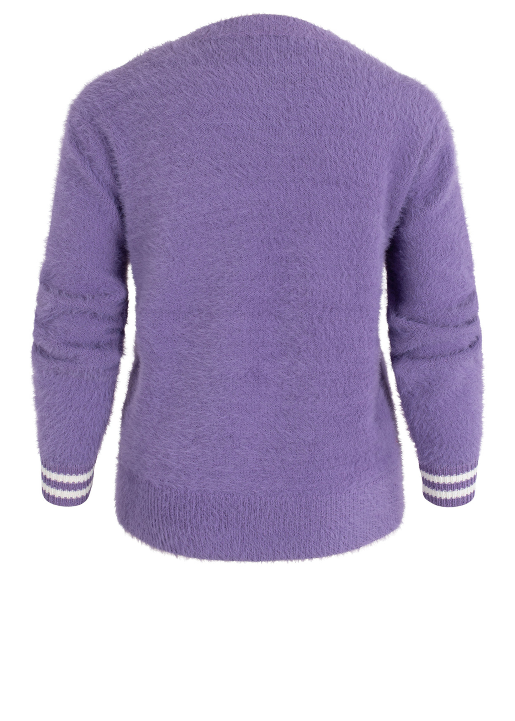 Anna Blue PULLOVER Lilac Solid