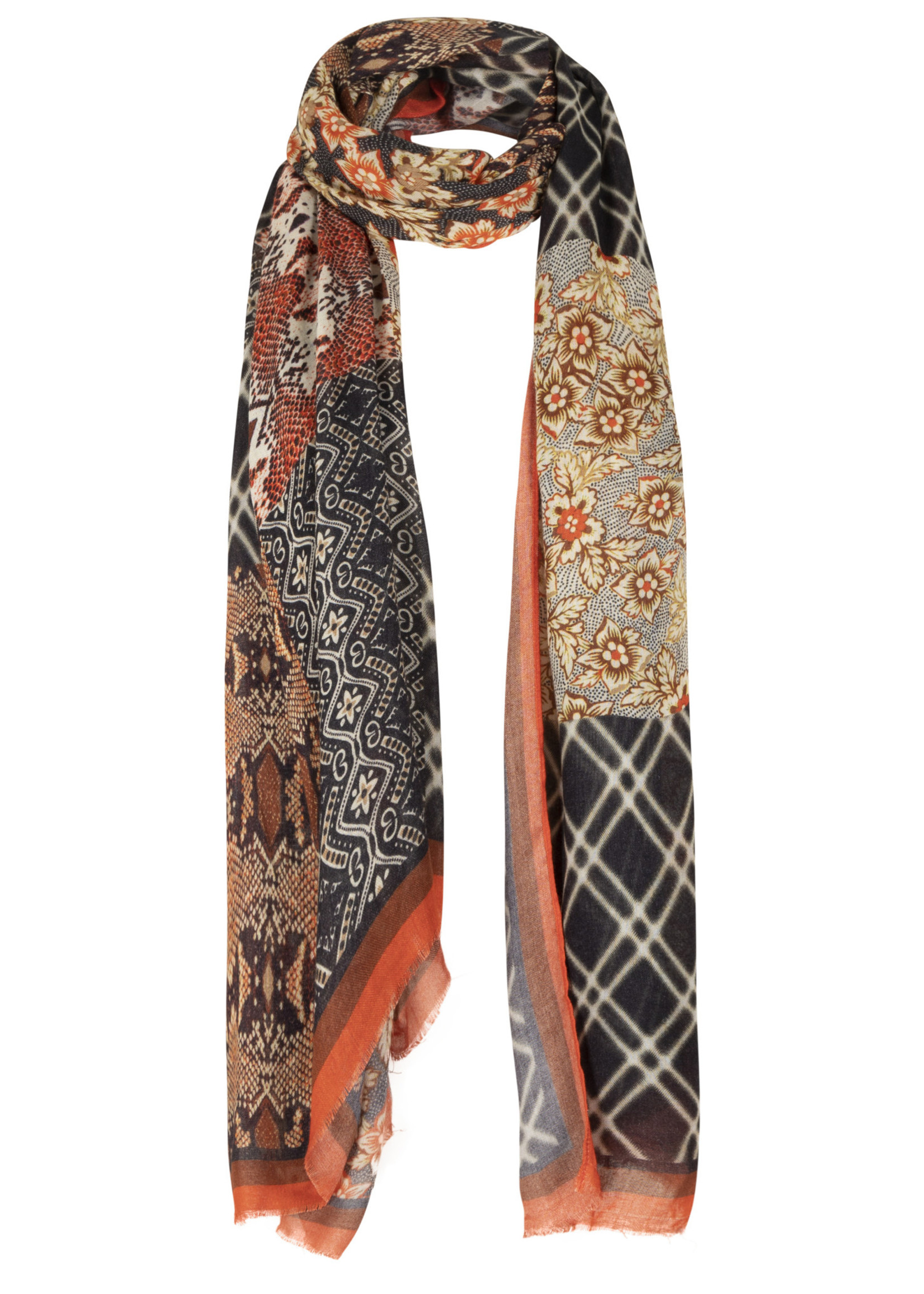 Tramontana Scarf Quilty Print