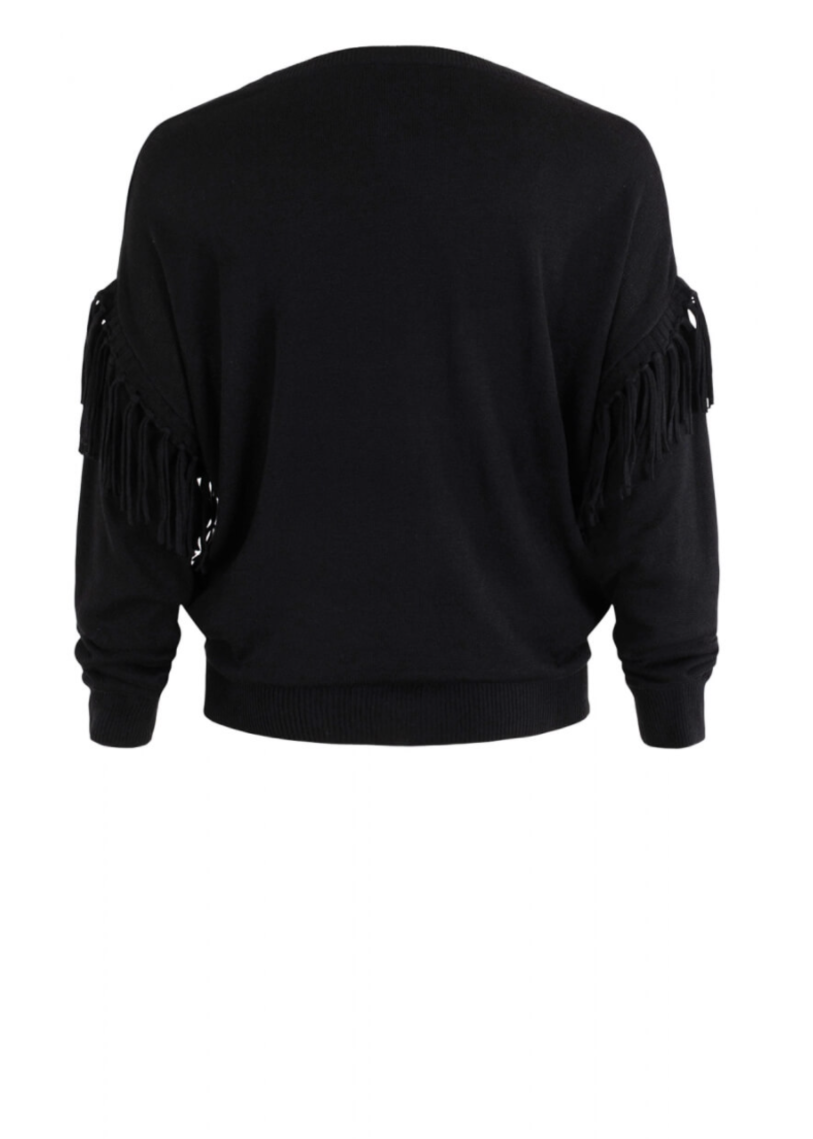 Anna Pullover Wool Black Solid