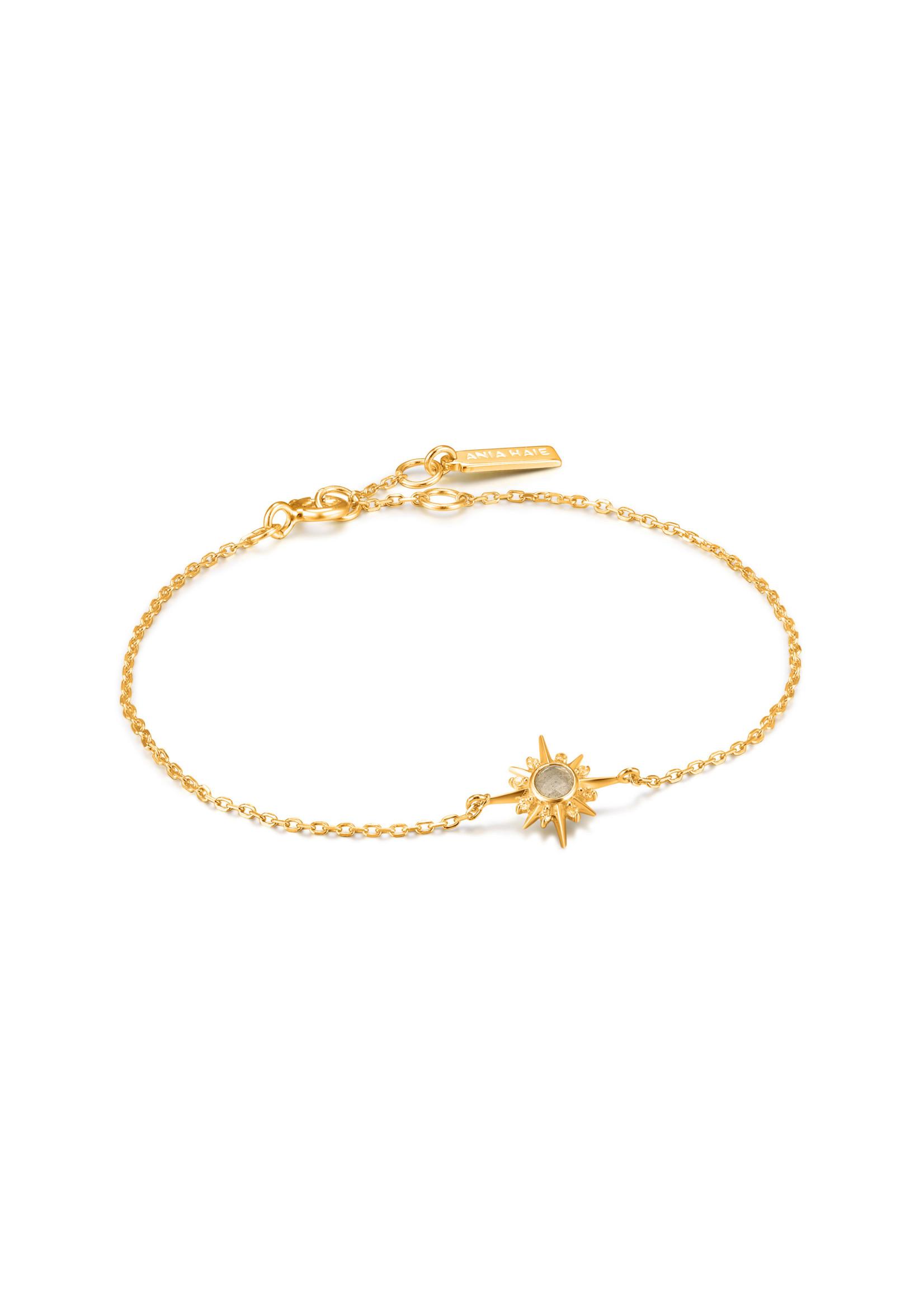 Ania Haie GOLD MIDNIGHT STAR BRACELET